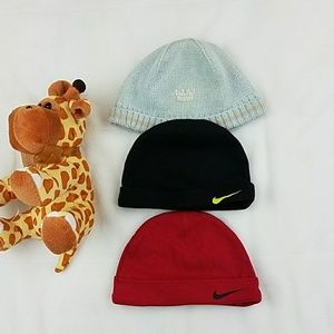 Bundle of Baby Boy Hats sizes 0 to 12 months